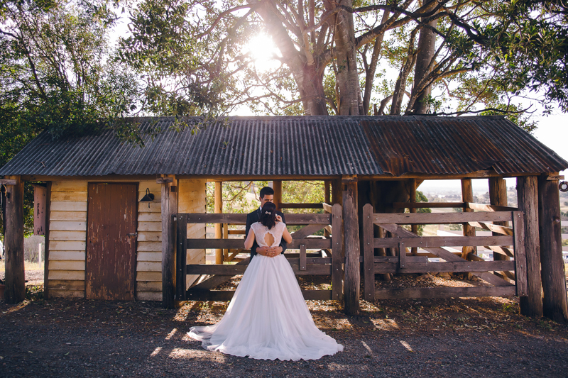 Bride and Groom: Katie and Jake – Photographer: Kelsea K Photography